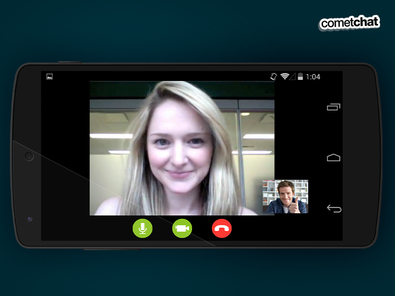 CometChat - Mobile App - Audio Video Chat.jpg