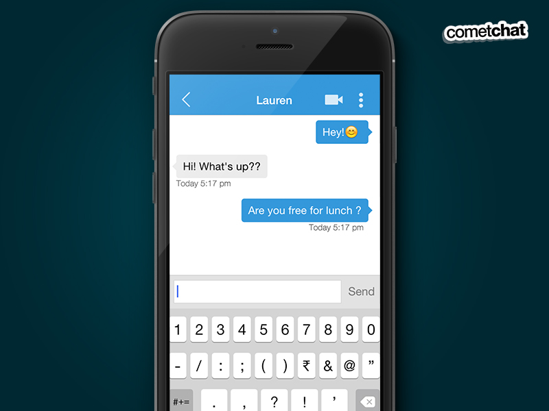 CometChat - Mobile App - Private Chat.jpg