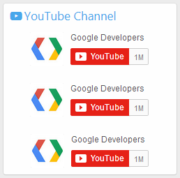 YouTube Channel in SideBar - Thêm YouTube Channel vào SideBar cho XenForo 2